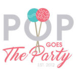 Tampa Bay Gourmet Cake Pops and Custom Creative Wedding Desserts and Favors | Pop Goes The Party Logo