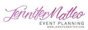 Sarasota Wedding and Events Planner Jennifer Matteo Event Planning Logo