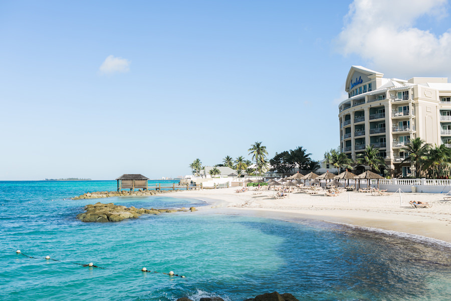 Travelmoons: Sandals Royal Bahamian Bahamas Destination Honeymoon and Wedding | Wedding Photographer AlexisJuneWeddings