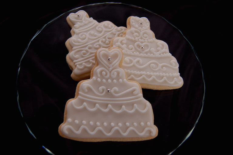 Custom Wedding Cake Cookie Favors | Dessert Favors in Tampa Bay by The Artistic Whisk