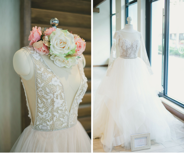 Couture Designer Wedding Bridal Gown with Tulle | Blush Bridal Sarasota
