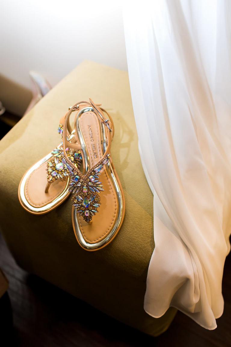 Elegant Destination Wedding Beach Shoes
