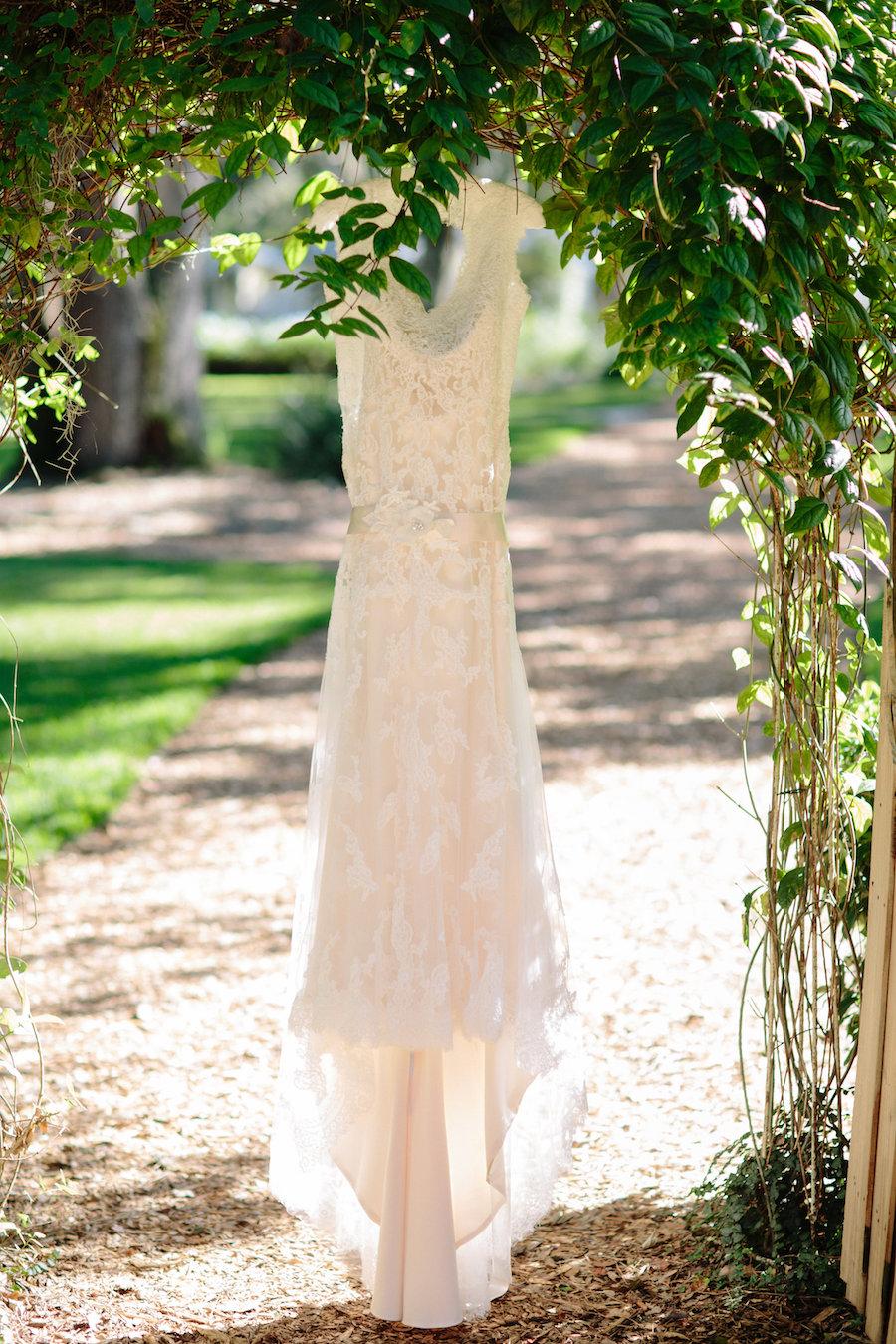 Ivory, Lace, Maggie Sottero Wedding Dress