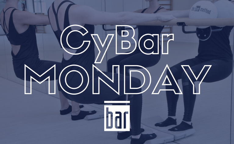 Bar Method Tampa | Cyber Monday DIscount