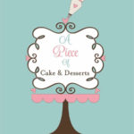 Tampa Wedding Cake Bakery A Piece of Cake and Desserts Logo