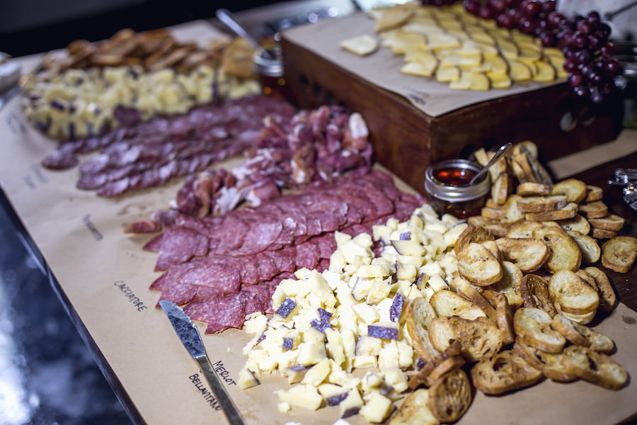Artisanal Charcuterie Platter of Meat and Cheese   Tampa Wedding and Event Catering Company SaltBlock Catering