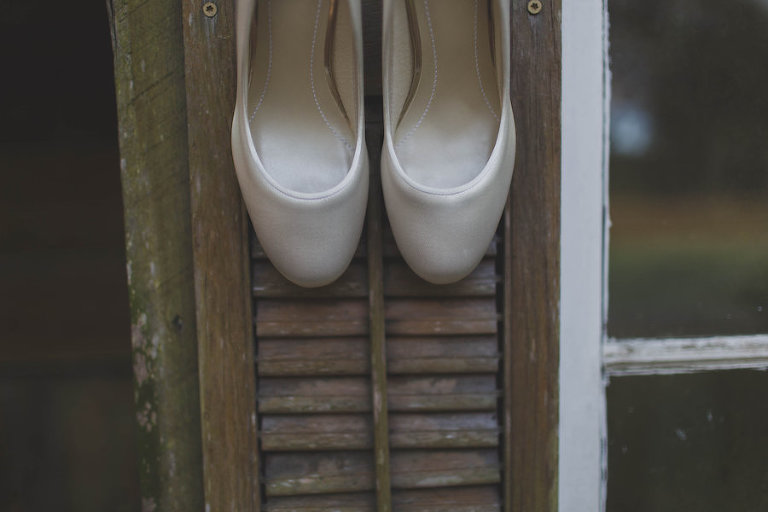 Ivory Bridal Wedding Shoes | Wedding Ballerina Flats
