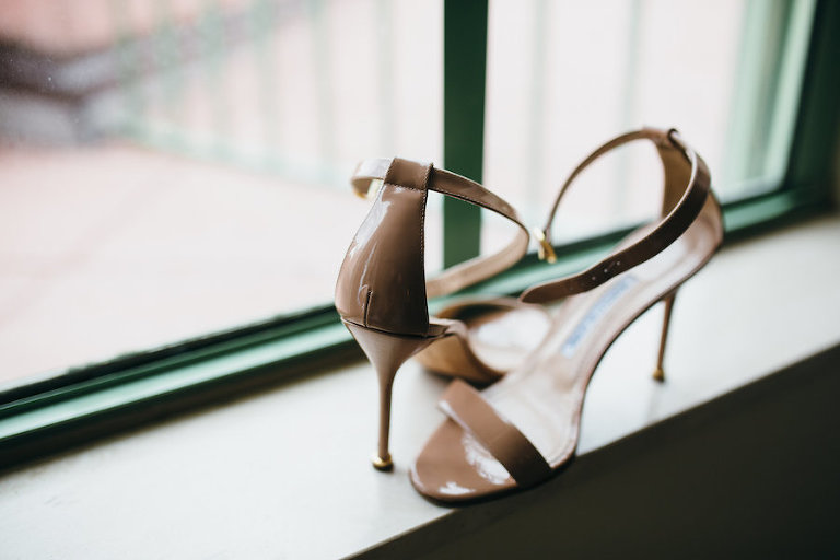 Nude Patent Leather Wedding Shoes | Nude Dress Stiletto | Nude Dress Sandal