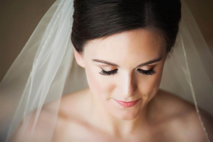 Romantic and Simple Bridal Wedding Makeup Portrait | St. Pete Wedding Photographer Limelight Photography