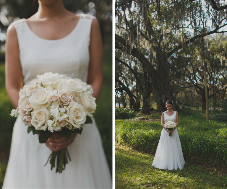 Wedding Gowns Tampa: White And Blush Pink Rustic Tampa Bay Wedding