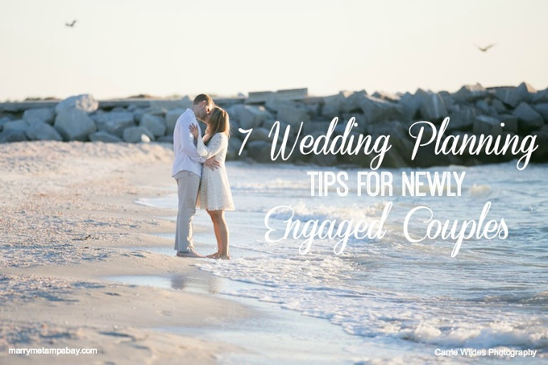 Wedding Planning Advice for Newly Engaged Couples | Tampa Bay Wedding Planning Tips