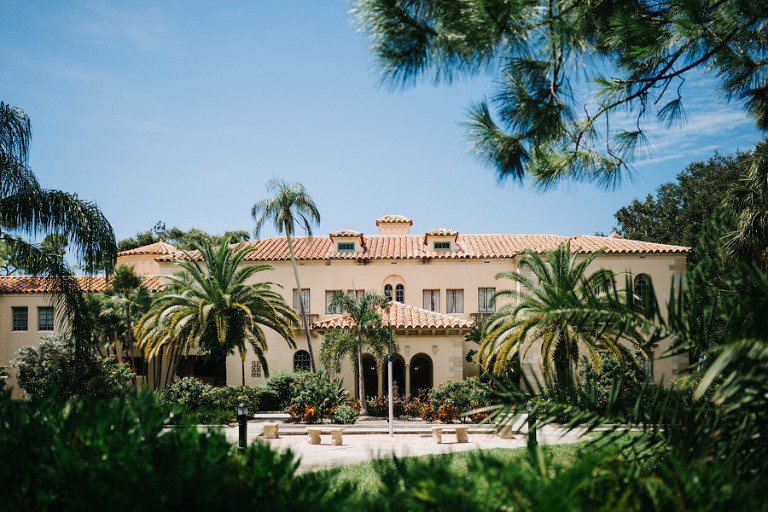 Outdoor Private Estate Mansion Sarasota Wedding Venue Powel Crosley Estate