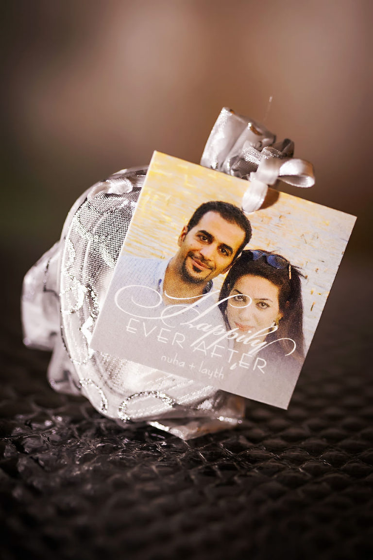 Engagement Wedding Photo Favor Happily Ever After Stationery Card