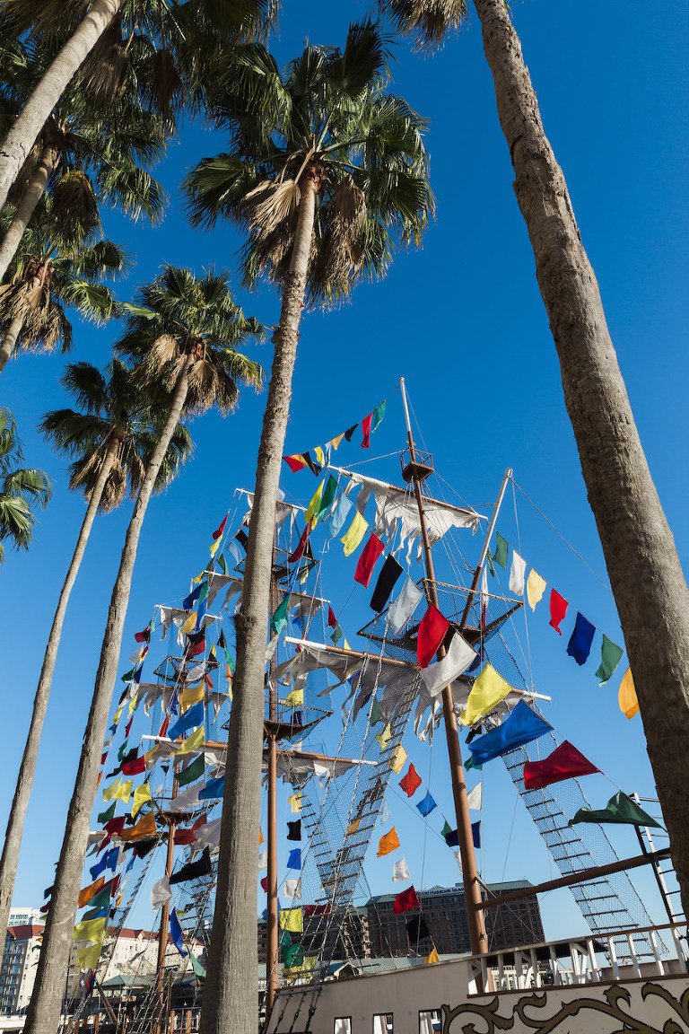 Tampa Bay Unique Traditions, Gasparilla Pirate Ships