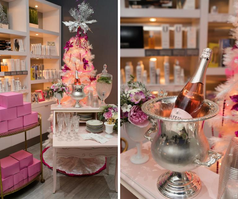 Vintage Furniture Champagne Bar | Tampa Bay Wedding Rentals Ever After Vintage Weddings | Caroline & Evan Photography