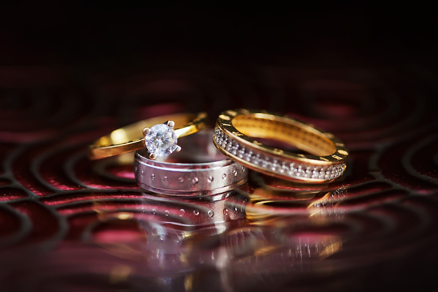 Wedding Bands and Engagement Ring | Tampa Wedding Photographer Limelight Photography