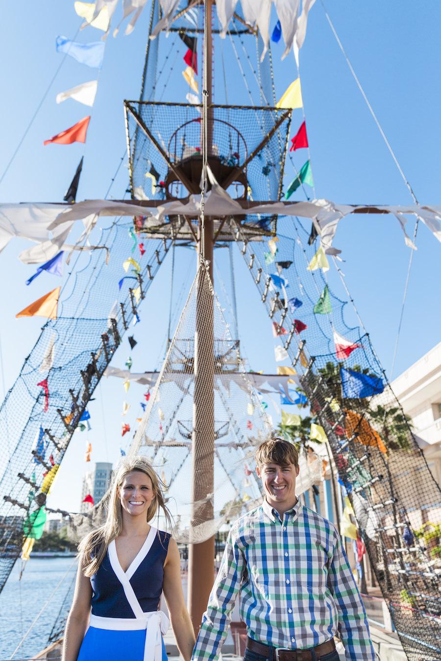 Tampa Bay Gasparilla Pirate Ship Engagement Shoot