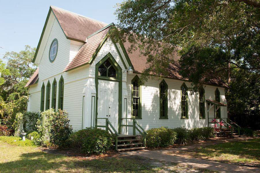 Dunedin Historic Wedding Ceremony Church Venue St. Andrew's Memorial Chapel