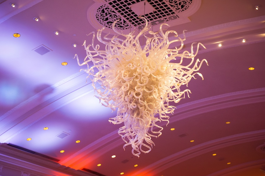 Custom Chihuly Chandelier at Vinoy Renaissance Hotel