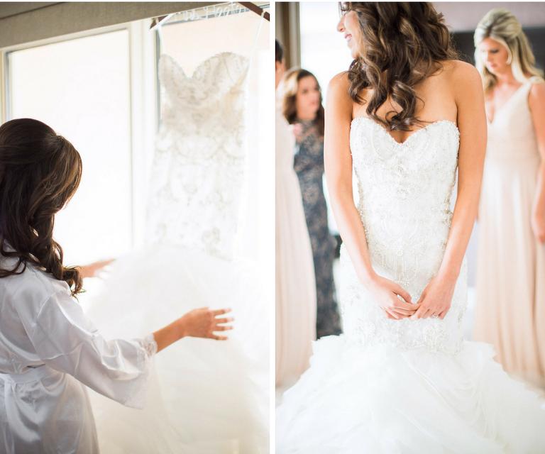 Glamorous White And Gold Ballroom Wedding