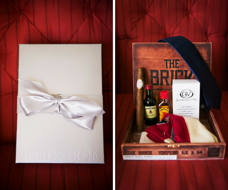 Groom Wedding Day Cigar and Whiskey Wedding Gift
