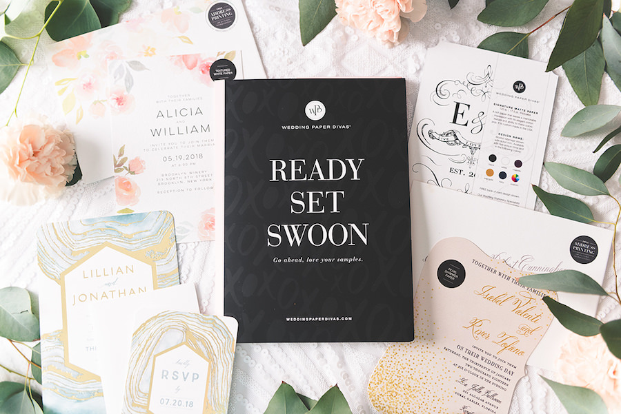2017 Wedding Invitation & Stationery Inspiration & Trends | Free Sample Kit and Discount Coupon Code to Wedding Paper Divas