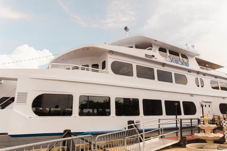Tampa Unique Waterfront Wedding Venue Yacht Starship