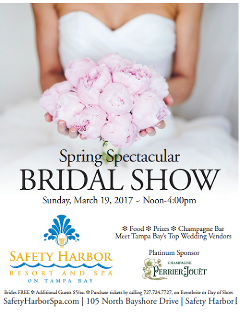 Tampa Bay Bridal Show at Safety Harbor Resort and Spa Sunday March 19, 2017