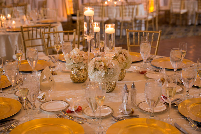Downtown Tampa Ballroom Wedding Inspiration Floridan Palace Wedding