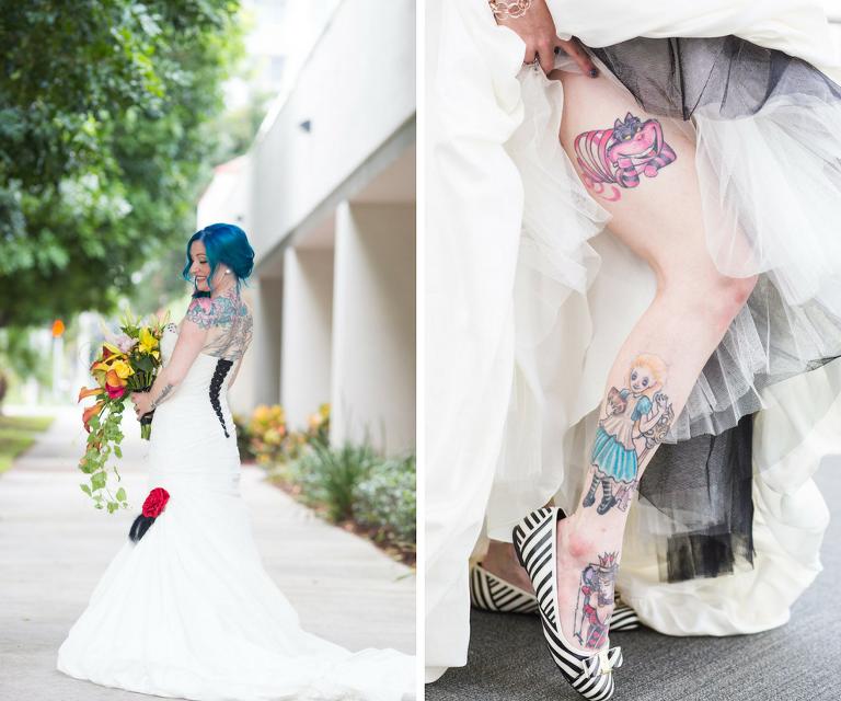 Whimsical Alice In Wonderland Inspired St Petersburg Wedding Dali