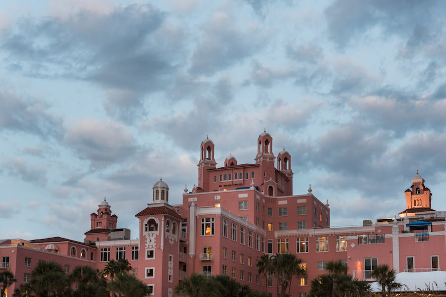 St. Pete Beach Iconic Hotel Wedding Venue | Loews Don CeSar Pink Palace Hotel