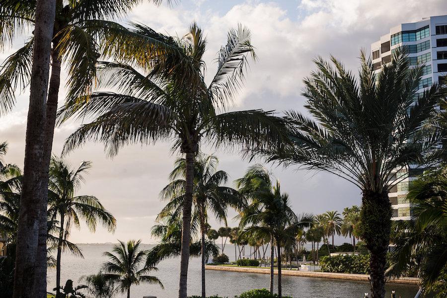 View from Waterfront Luxury Hotel Wedding Venue Ritz Carlton Sarasota
