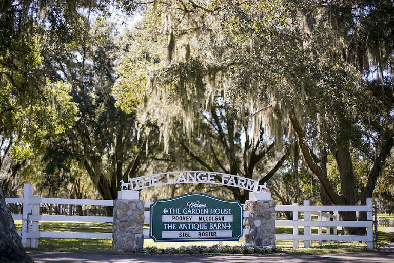Outdoor Tampa Bay Rustic Wedding Venue with Spanish Moss Trees The Lange Farm