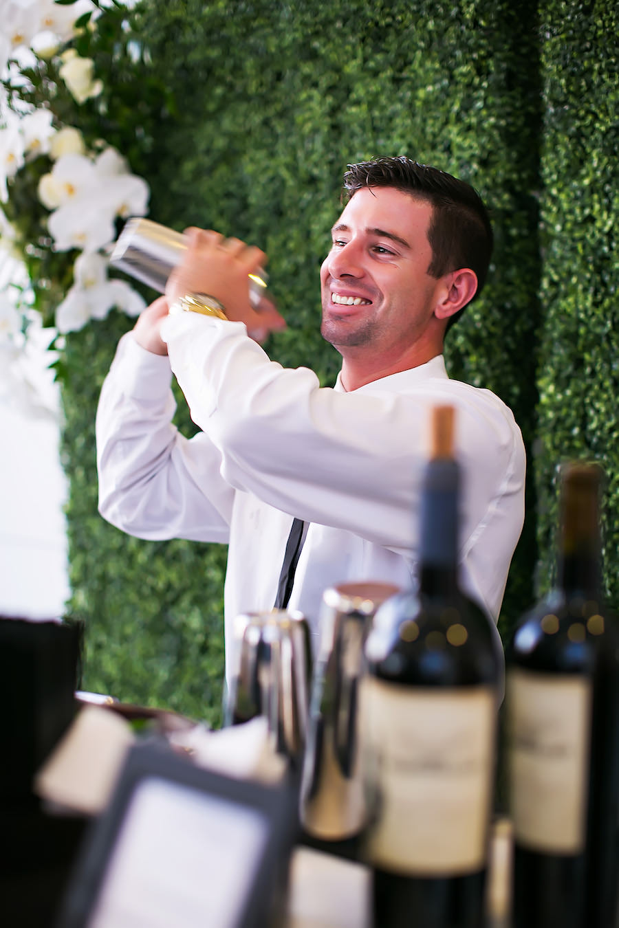 Tampa Bay Wedding & Event Caterer Saltblock Catering Cocktail Hour Bar Service