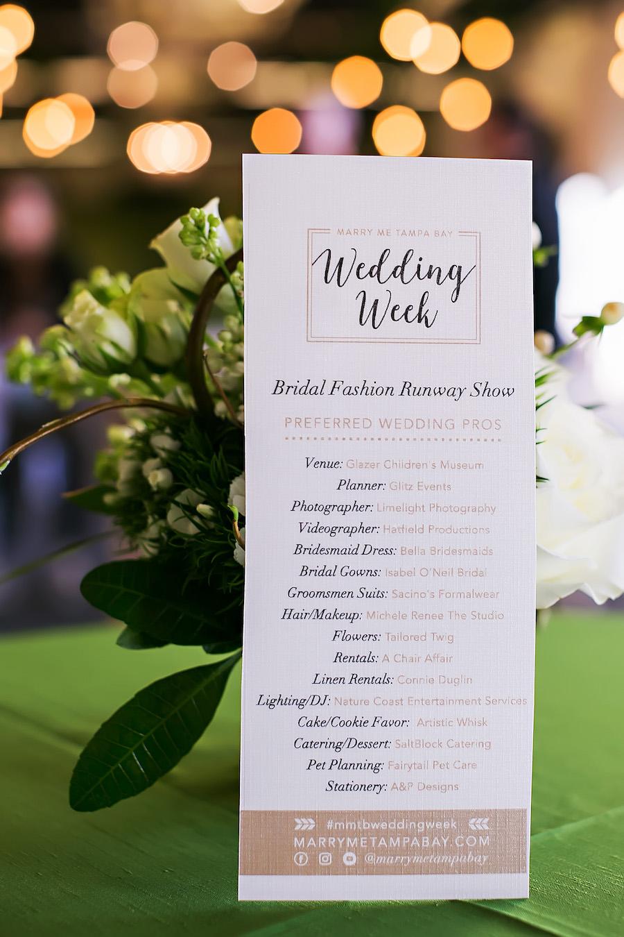 Marry Me Tampa Bay Wedding Week Bridal Fashion Show