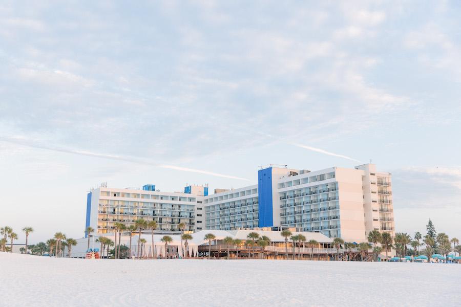 Hilton Clearwater Beach Hotel Wedding Venue