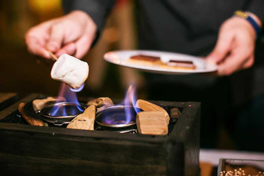 Tampa Bay Wedding & Event Caterer Saltblock Catering Smores Dessert Bar