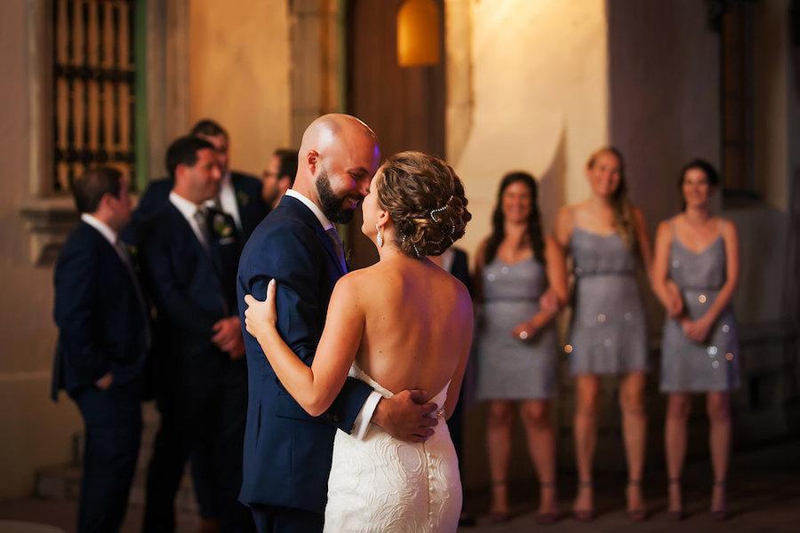 Powel Crosley Estate Wedding Bride and Groom First Dance