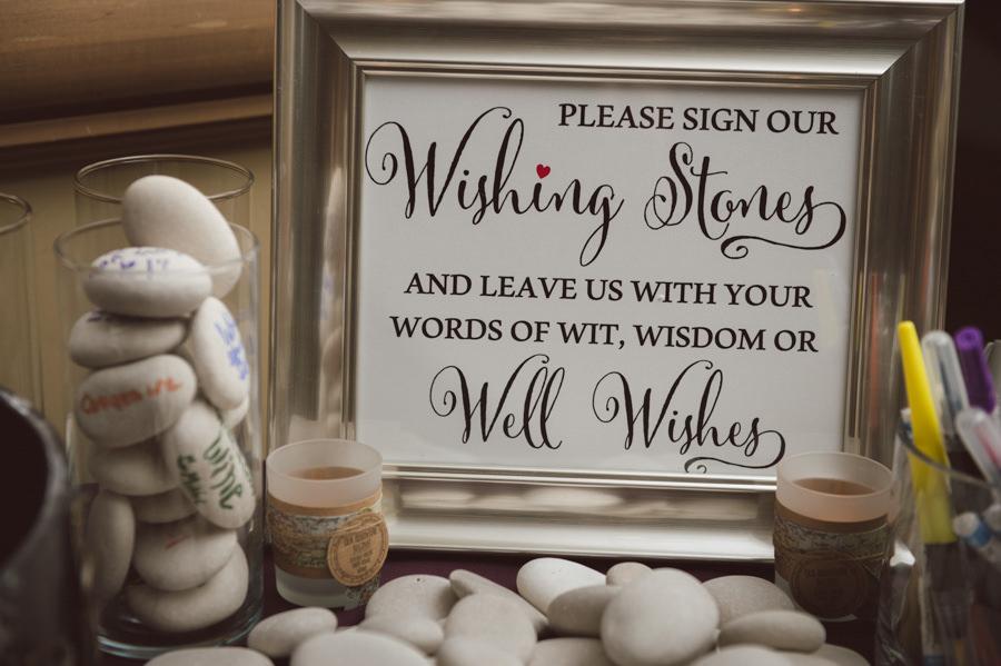 Wishing Stones Wedding Guest Book Alternative Ideas