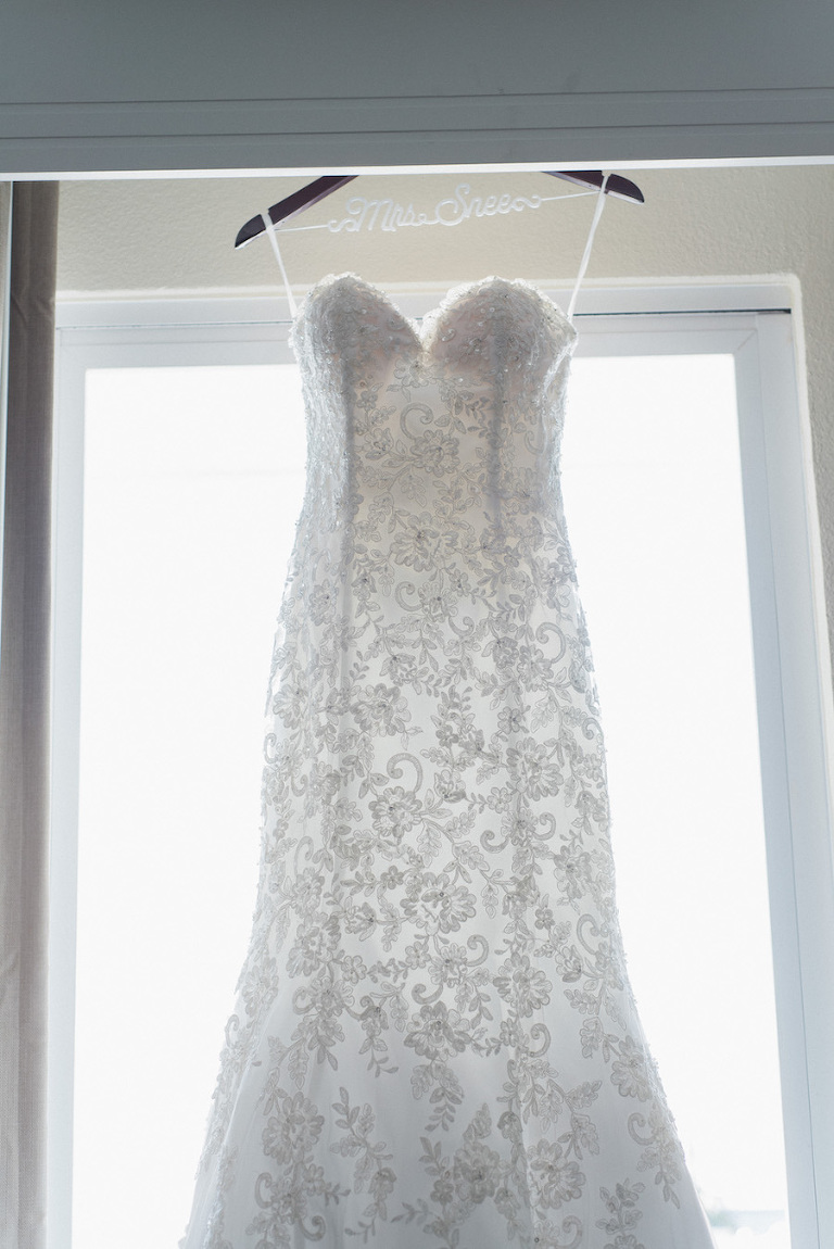 Strapless Sweetheart White Beaded Morilee Madeline Gardner Wedding Dress