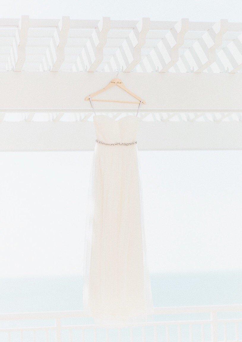 Strapless Sweetheart Wedding Dress for Beach Destination Wedding