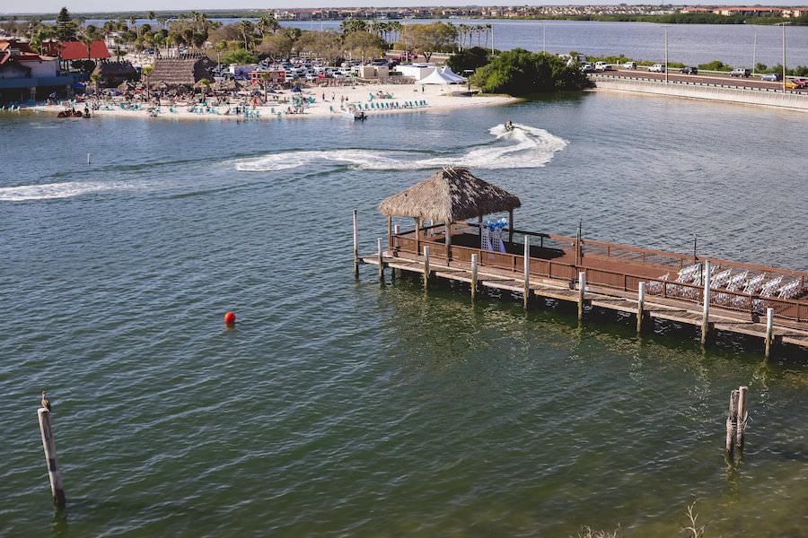 Outdoor, Tampa Bay Waterfront Wedding Ceremony | Bay Harbor Hotel