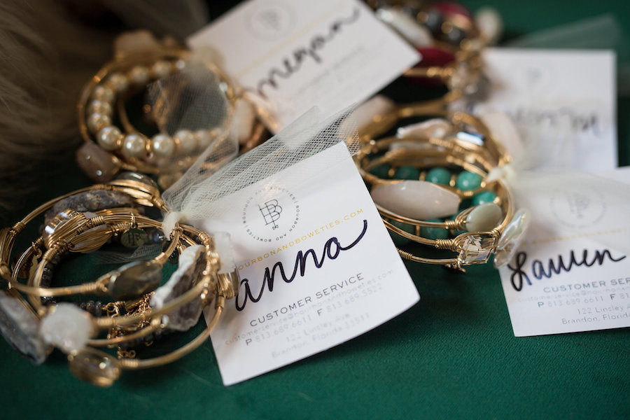 Bridesmaid Gift Ideas | Bourbon and Bowties Gold Bracelets