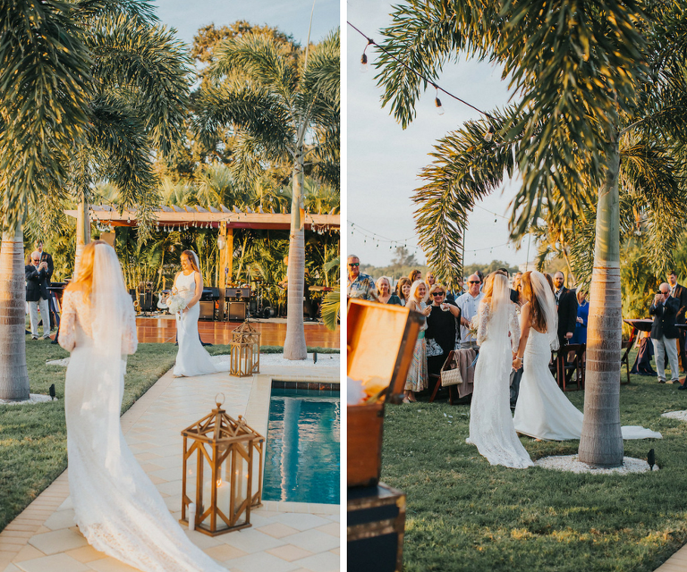 Wedding Gowns Tampa: Navy & Coral Nautical Chic Wedding