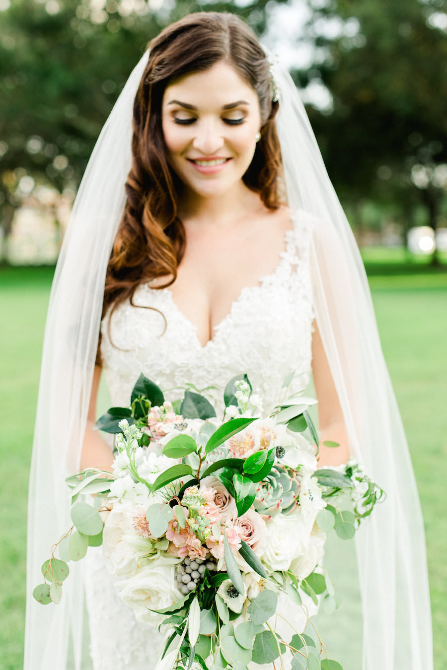 Outdoor, Downtown St. Petersburg Bridal Portrait   Tampa Bay Wedding Photographer Ailyn La Torre Photography