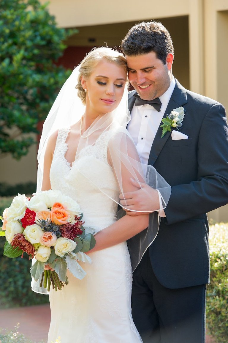 Classic ivory south tampa wedding palma ceia golf for Wedding dresses tampa bay area