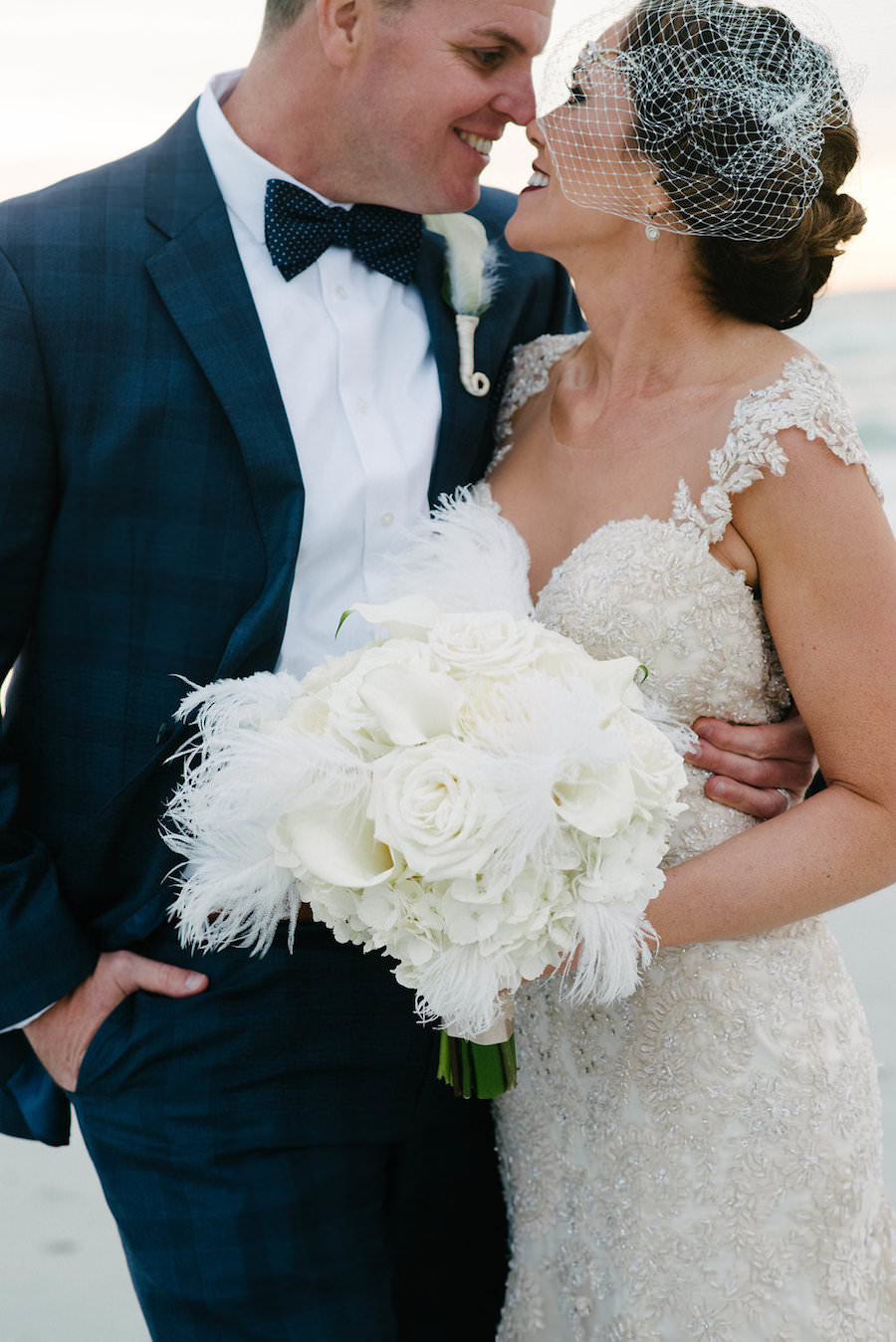 Outdoor St. Petersburg Bride and Groom Wedding Portrait   Tampa Bay Wedding Photographer Jonathan Fanning Studio and Gallery