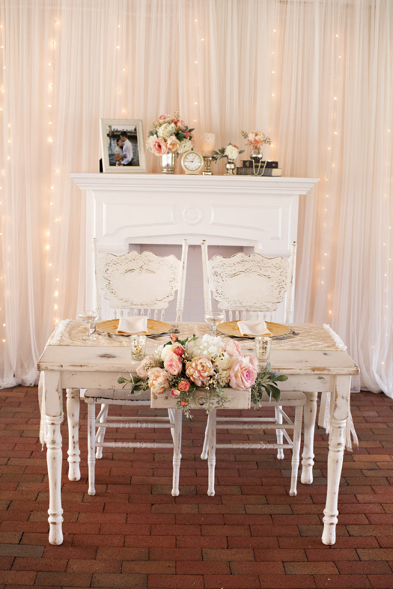 Shabby Chic Blush Pink & Gold Tampa Bay Wedding | Cross Creek Ranch