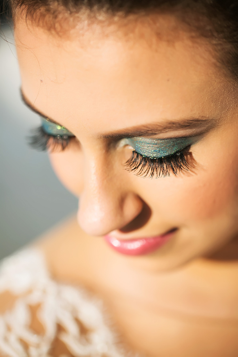 Glamorous Bridal Makeup | Tampa Bay Wedding Hair and Makeup Michele Renee The Studio | Wedding Photographer Limelight Photography