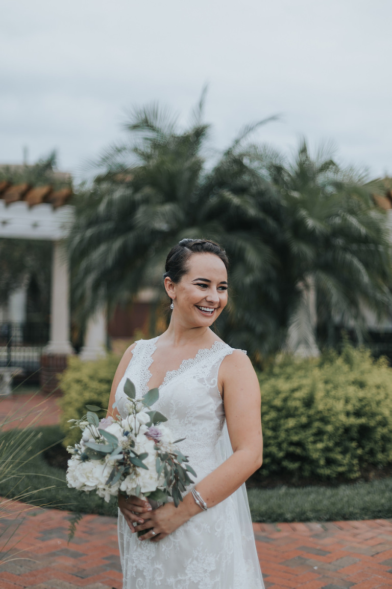 Boho inspired south tampa waterfront wedding westshore for Wedding dresses tampa bay area
